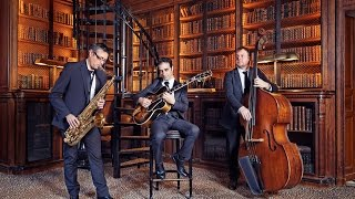Jazz Trio for weddings & events in France - saxophone, guitar, doublebass
