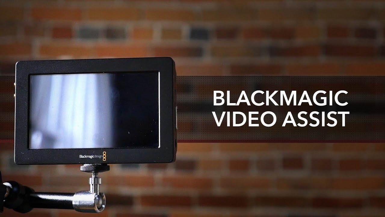 """מוניטור מקליט 5"""" Blackmagic Design Video Assist 3"""