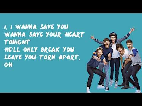 Save You Tonight - One Direction (Lyrics)