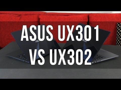 Asus Zenbook UX302LG / UX302 vs UX301LA / UX301 comparison