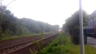 preview picture of video 'Pociąg Kolei Śląskich relacji Wodzisław-Pszczyna'