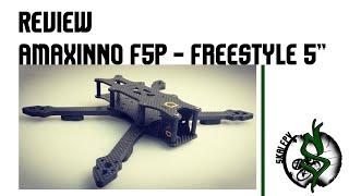 AMAXinno FA5P Freestyle Frame - 5 Inch Professional FPV Drone Frame aMAXshop