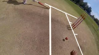"POV Cricket- Fielding in Silly Point & Short Leg ""Howzzatt"""