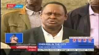 Cholera outbreak in Nairobi affecting unlikely persons in different venues
