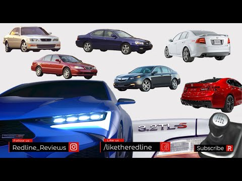 The History of the Acura TL Sport Sedan & What Lies Ahead