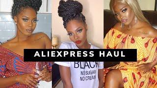 ALIEXPRESS CLOTHING HAUL 2020  • WHAT I WORE FOR #BLACKHISTORYMONTH
