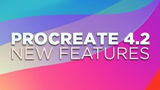 Procreate 4.2 UPDATE - New Features || QuickShapes || Clipping Masks || Crop & Resize || And more!