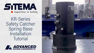 Sitema KR-Series Safety Catcher Spring Base Installation Tutorial