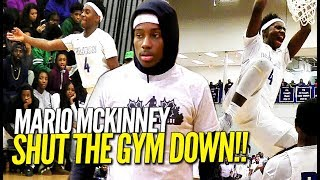 Hoodie Mario Hits a MEAN Putback Dunk & SHUTS THE GYM DOWN in Front of Sold Out Crowd!!