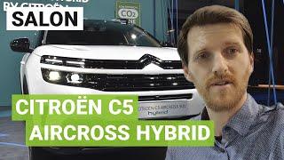 Citroën C5 Aircross HYBRID : l'offensive électrique du SUV aux chevrons