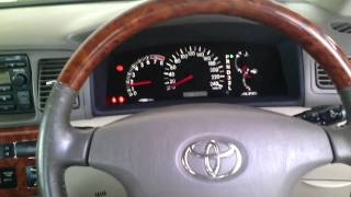2004 Toyota Corolla Altis 1.8 G Cold Start