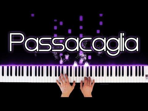 Passacaglia – G.F. Handel / J. Halvorsen (Piano Version)