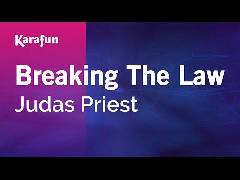 Breaking The Law - Judas Priest   Karaoke Version   KaraFun
