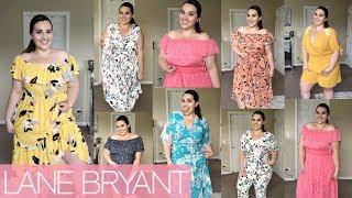 Lane Bryant Spring/Summer Dress Haul 2019 | Sarah Rae Vargas