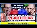MAJOR STIMULUS CHECK UPDATE! $1,400 Stimulus Checks + Senate BATTLE! - Trillion Dollar Stimulus!