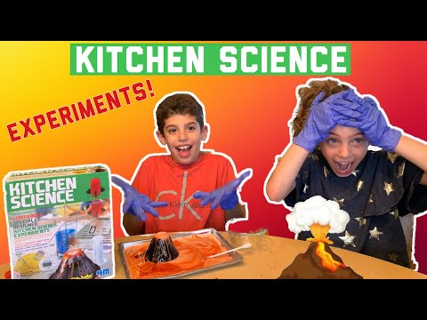 3 Fun Experiments for Kids! | Kitchen Science Product Review