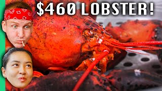 $6 Lobster VS $460 Lobster in Vietnam!!! (Biggest Lobster in Vietnam!)
