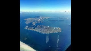 Flight to Santorini (Full Flight) [HD] 1080p
