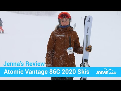 Video: Atomic Vantage 86 C W Skis 2020 8 50