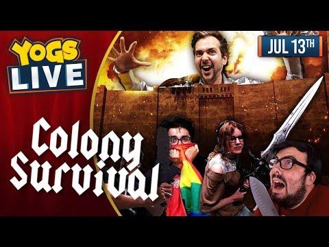 COLONY SURVIVAL w/ Lewis, Leo, Ravs & Pedguin - 13/07/19