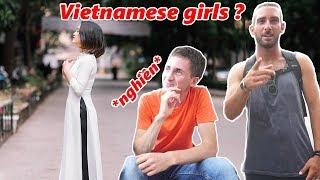 Ask Foreigners | Trai Tây Nghĩ Gì Về Con Gái Việt Nam - What Do You Think Of Vietnamese Girls
