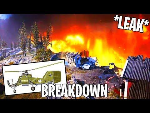 Battlefield 5 - Official Firestorm Trailer LEAKED (Breakdown)