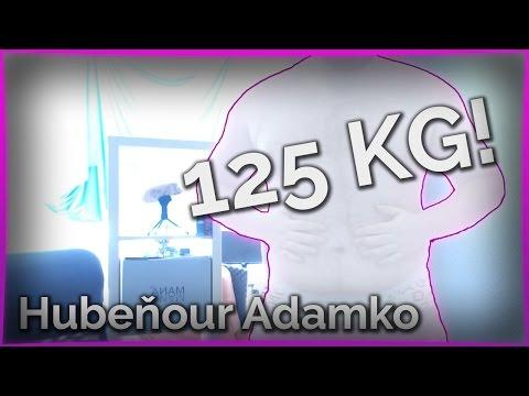 125 KG?! | Hubeňour Adamko #1