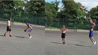 Basketball 1vs1 against good ball handling player!