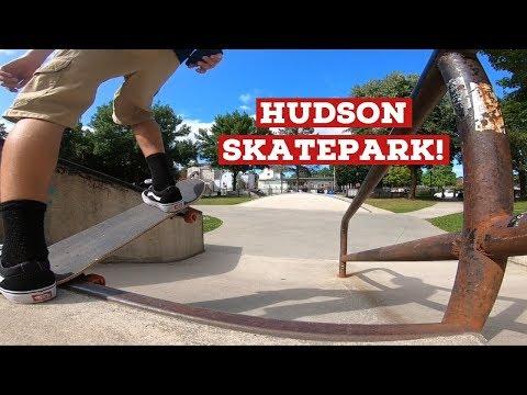 Hudson Skatepark! (Learning New Tricks!)