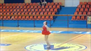 preview picture of video 'Karmen Međurečan -Freestyle Junior-  Požega 2014'