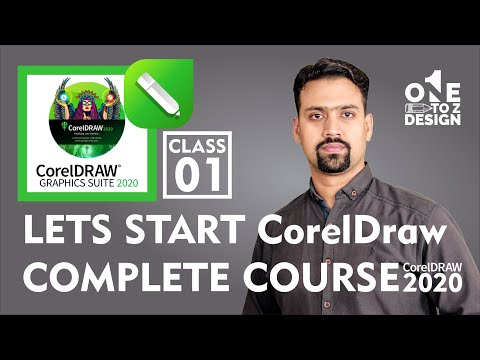 CorelDraw 2020 Complete Course for Beginners # 01   Free Training in Urdu / Hindi