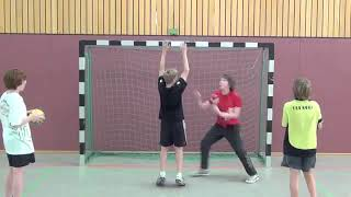 How to Schlagwurftäuschung   Handball Training Гандбол тренировка