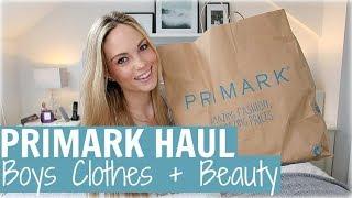 PRIMARK HAUL - BOYS CLOTHES & PRIMARK BEAUTY | Alex Gladwin