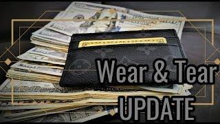 Louis Vuitton Porte Carte Card Holder Wear And Tear UPDATE