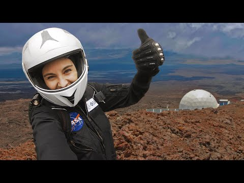 Life as a moon astronaut, here on Earth 👩🚀
