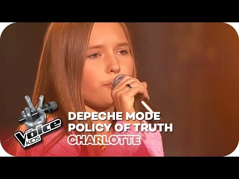 Depeche Mode - Policy Of Truth (Charlotte) | Blind Auditions | The Voice Kids 2016 | SAT.1 Mp3