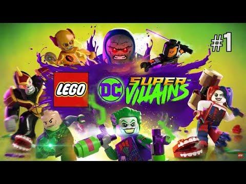 Twitch Livestream | Lego DC Super-Villains Part 1 [Xbox One]