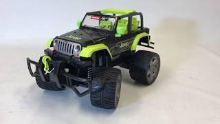 """Радиоуправляемая машинка Jeep Wrangler Rubicon Carrera от компании Интернет-магазин """"Timatoma"""" - видео"""
