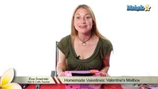 Homemade Valentines: Valentines Mailbox