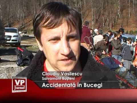 Accidentată în Bucegi