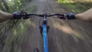 preview picture of video 'VTT - Descente single Orsay (2) - Commencal Meta 5 5 - GoPro Hero 3 Black'
