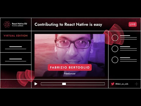 Image thumbnail for talk Contributing To React Native Is Easy