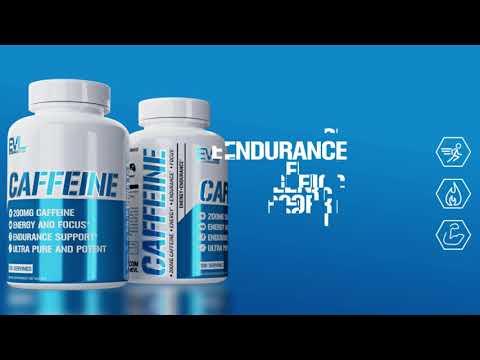 EVLution Nutrition, Caffeine, 200 mg, 100 Tablets