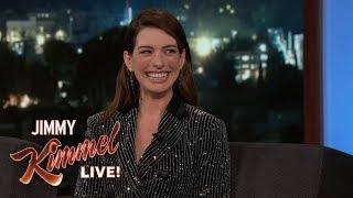 Anne Hathaway Does Matthew McConaughey Impression
