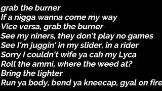 Swarmz x Tion Wayne - Bally (Lyrics)