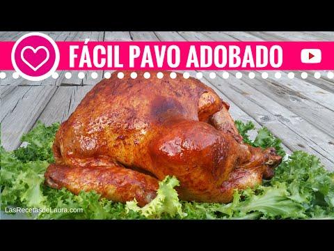 Como preparar PAVO AL HORNO -Jugoso y tierno- Pavo Adobado - Mexican Oven Roasted Turkey