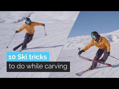 10 SKI TRICKS TO DO WHILE CARVING