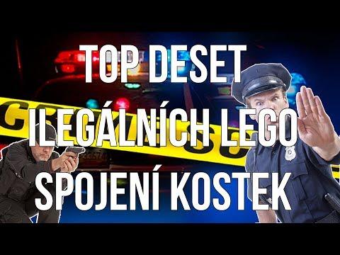 TOP DESET ILEGÁLNÍCH SPOJENÍ LEGO KOSTEK | SKORO MĚ ZATKLI