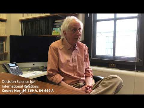 Decision Science for International Relations - YouTube
