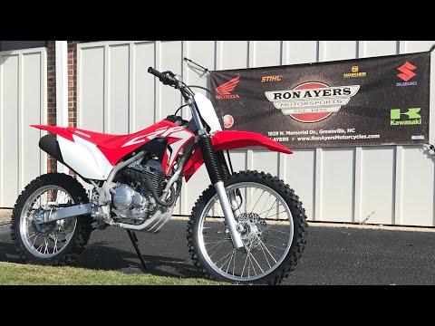2021 Honda CRF250F in Greenville, North Carolina - Video 1